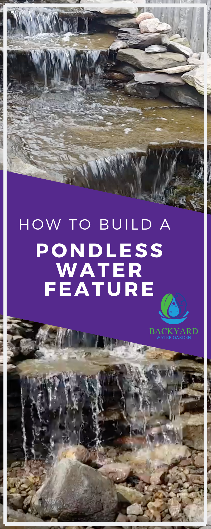 The Pondless Waterfall Diy Backyard Water Garden Pondless Water Features Waterfalls Backyard Backyard Pondless Waterfall