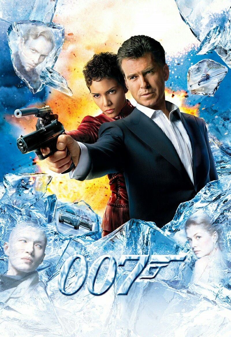 Die Another Day James Bond Movie Posters James Bond Movies