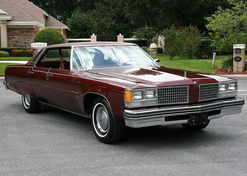 1976 Oldsmobile Ninety Eight Ls 455 Mjc Clic Cars Pristine For Locator Service