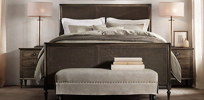 Rh S Bedroom Collections At Restoration Hardware You Ll Explore An Exceptional World Of High Quality Unique Furniture
