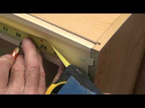 Wall Cabinet Mounting Techniques W Filler Strips Youtube Wall Cabinet Installing Cabinets Diy Remodel