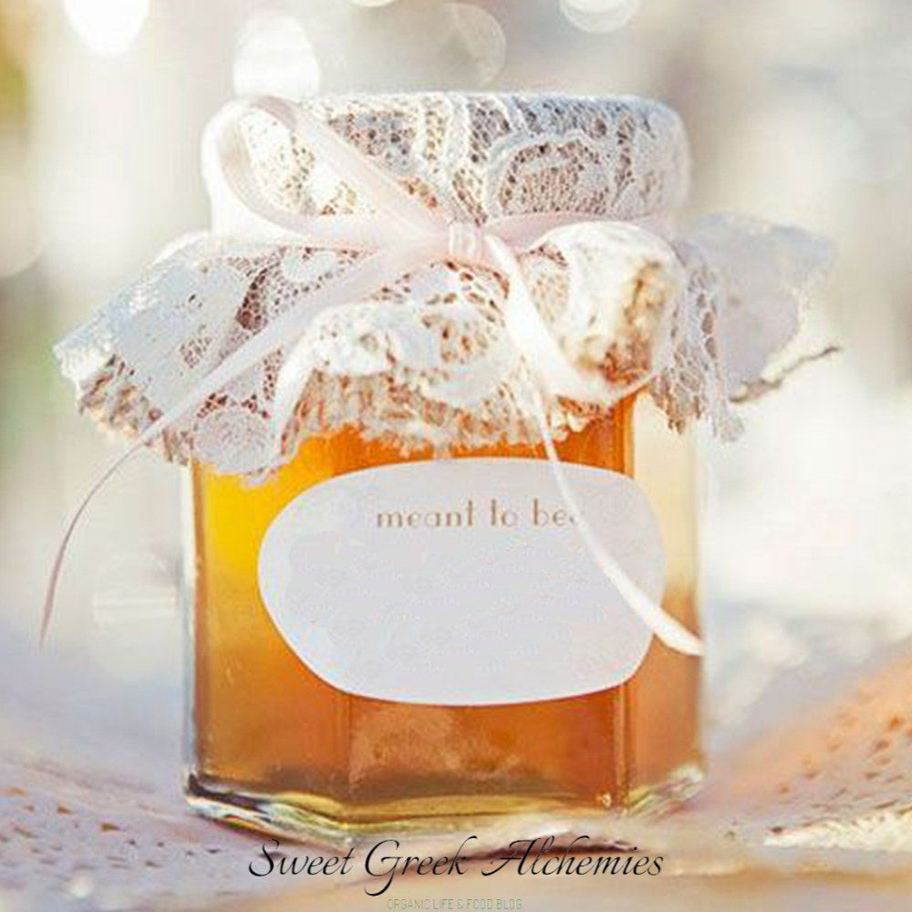 25 pcs Meant to Bee Honey Favors (40ml/1.35oz), Honey Wedding Favors ...