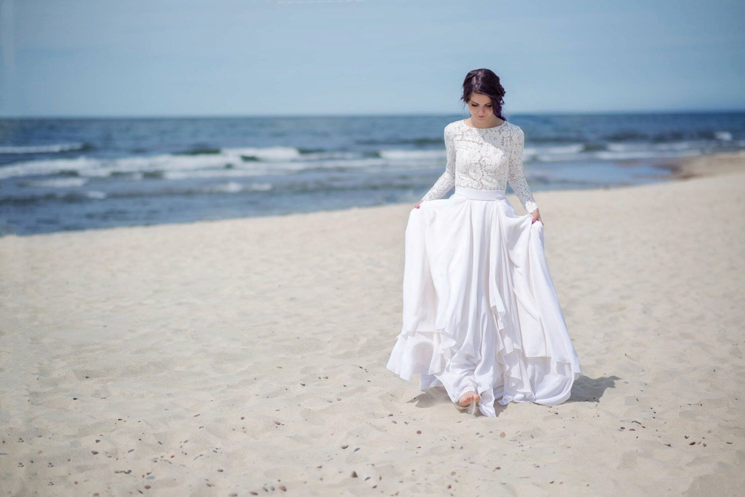 Colorful Simple Wedding Dress Pictures Sketch - All Wedding Dresses ...