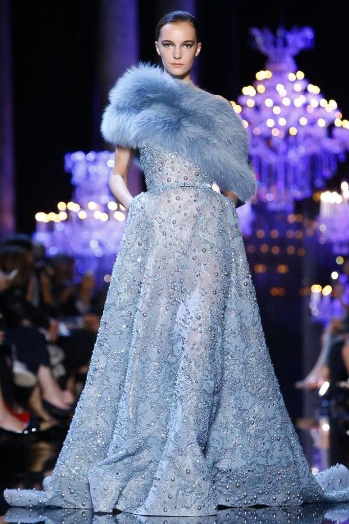 Paris Couture Fashion Week: Eli Saab F/W14 Collection  #Couture