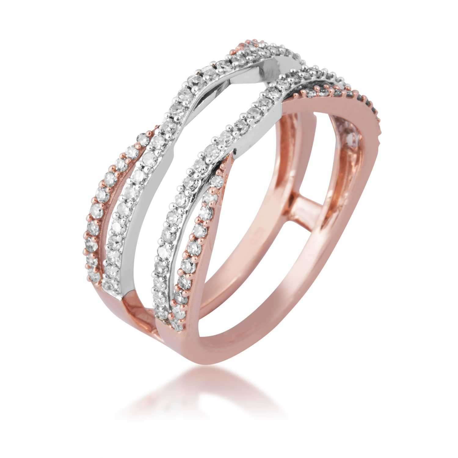 La s White Diamond Ring Enhancer with rose Gold would love the