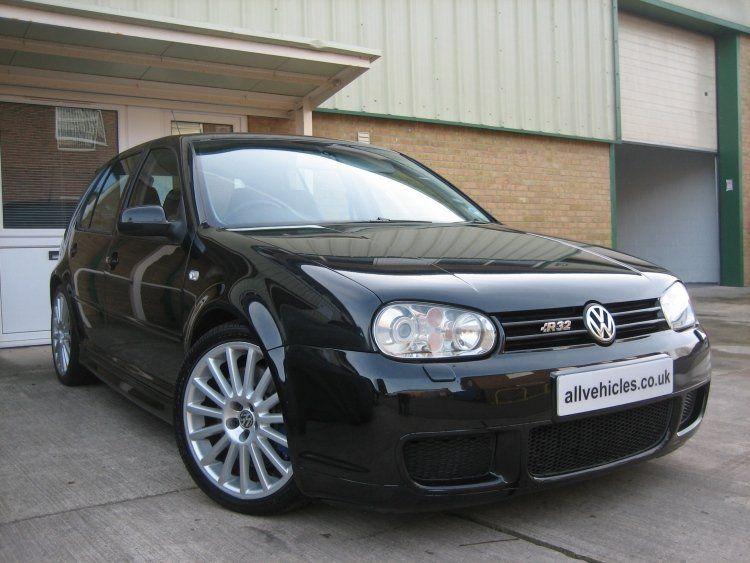 For Sale Mk4 Volkswagen Golf R32 5 Door Hatchback Manual In Black