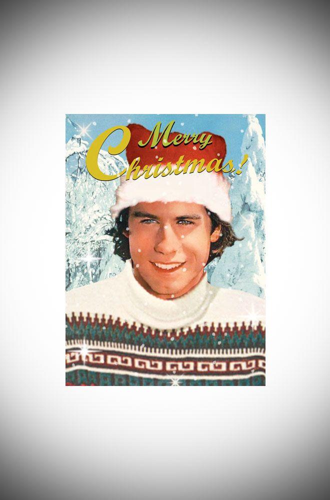 Christmas Card 5 Pack... John Travolta | Pinterest | John travolta ...