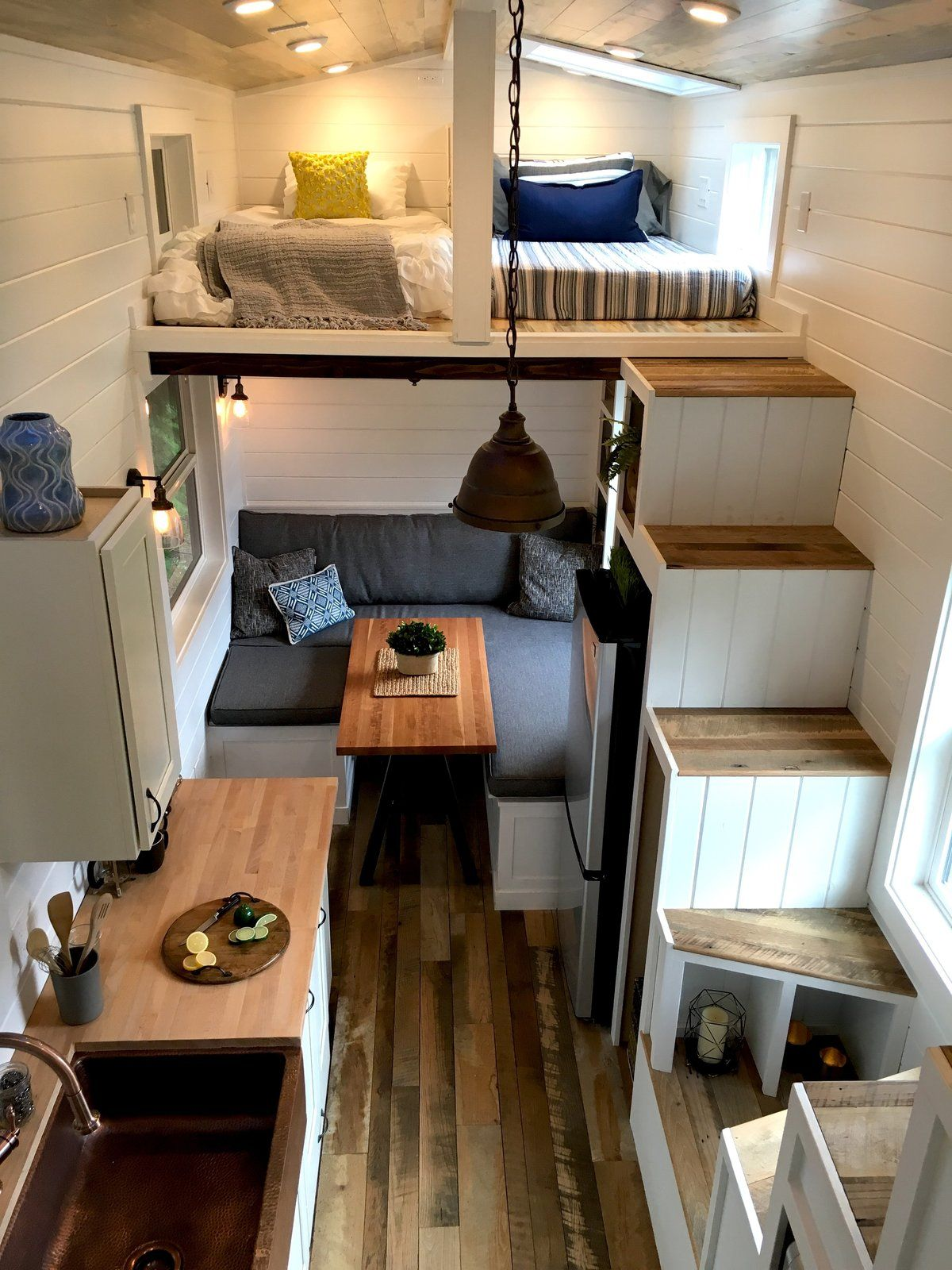 Photo 12 Of 20 In This Oregon Company Crafts Exceptional Tiny Homes Tiny House Towns Tiny House Design Tiny House Kitchen