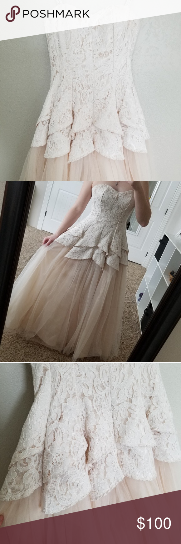 Prom dress Worn once. Beautiful lace Masquerade ball gown. No damage.  Perfect condition Masquerade Dresses Prom #masqueradeballgowns Prom dress Worn once. Beautiful lace Masquerade ball gown. No damage.  Perfect condition Masquerade Dresses Prom #masqueradeballgowns