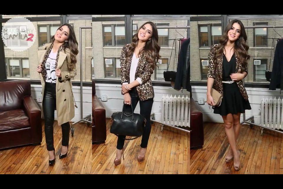 Three ways to wear a cheetah print blazer from zara