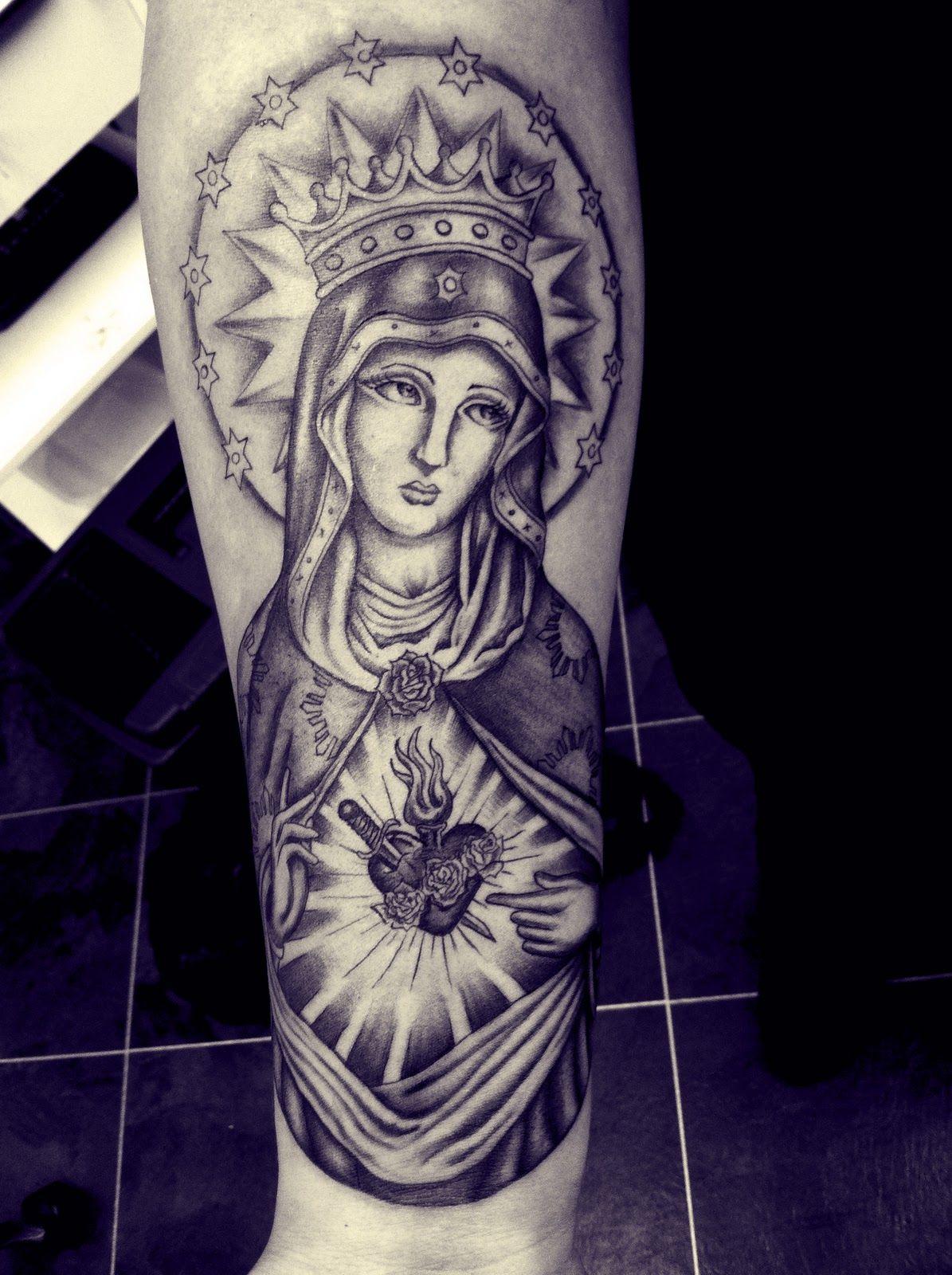 Forearm Sacred Heart Tattoos Google Search Tattoos I Love
