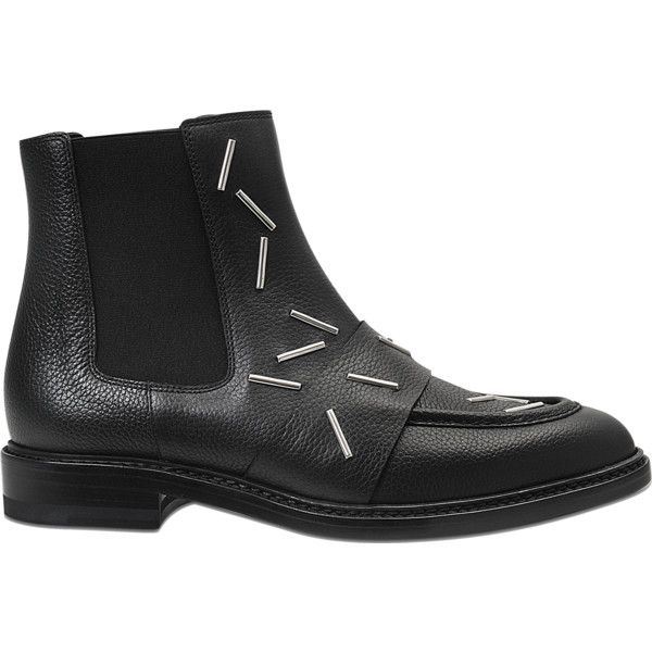 Christopher Kane Staples Chelsea boots (5,265 CNY) ❤ liked on Polyvore featuring shoes, boots, black, chelsea boots, chelsea ankle boots, black chelsea ankle boots, chelsea bootie and christopher kane shoes
