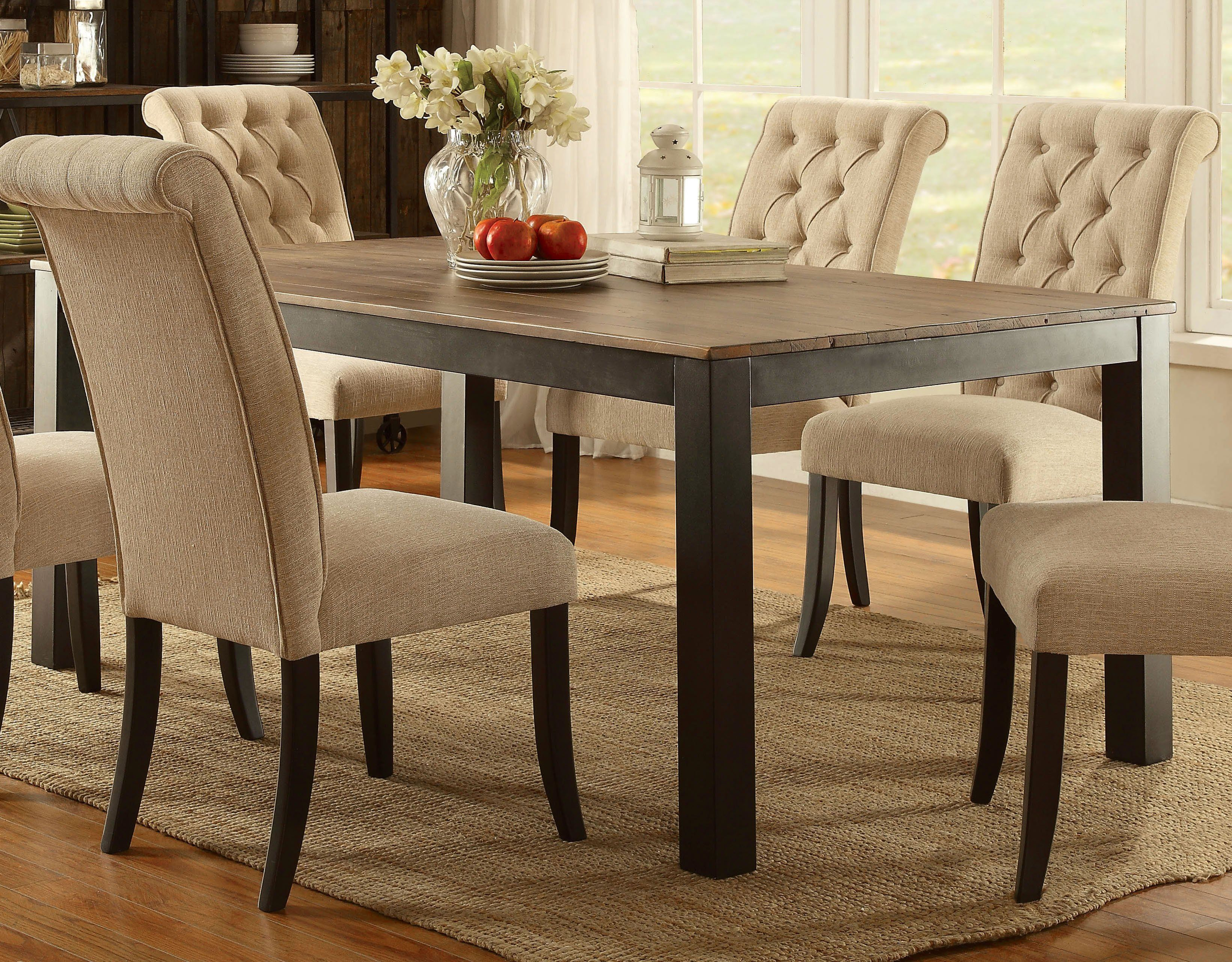 Meyer Transitional Dining Table Transitional Dining Tables Dining Table Table