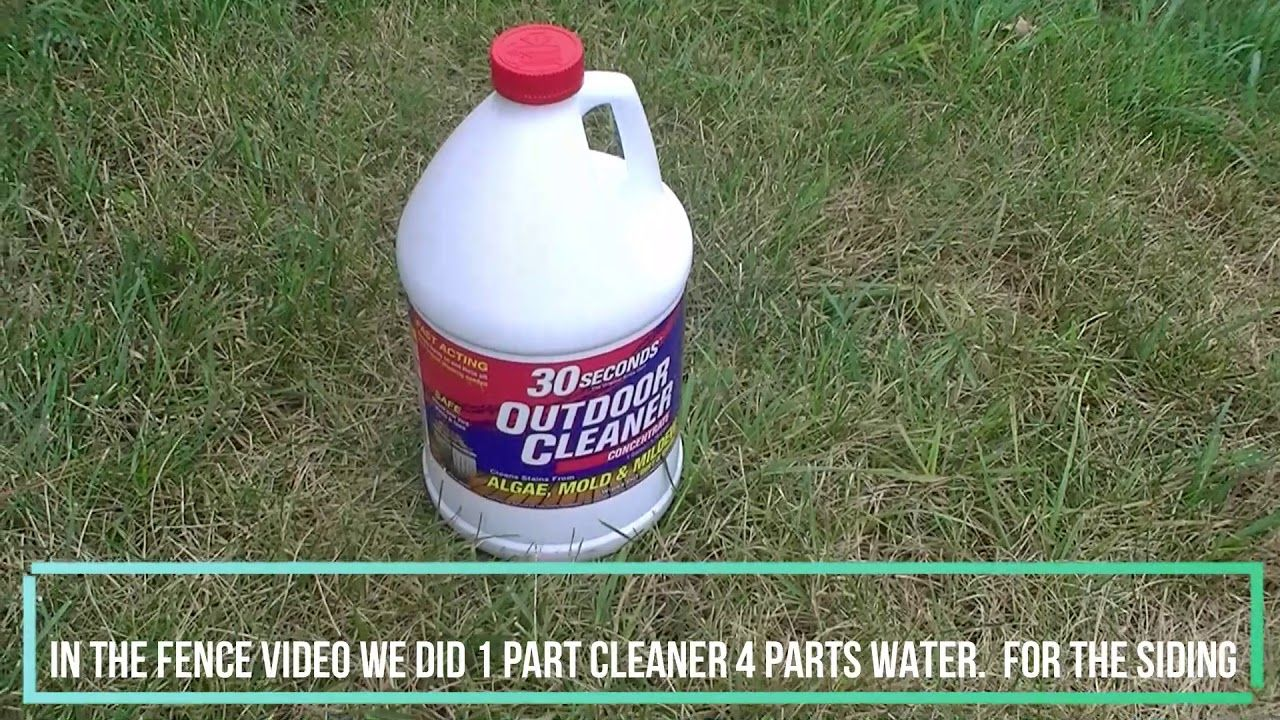 Cleaning Mold Mildew And Dirt Off Your Vinyl Siding Using 30 Seconds Outdoor Cleaner See The Impact Of Using 30 Seconds Ou In 2020 Cleaning Mold Vinyl Siding Cleaning