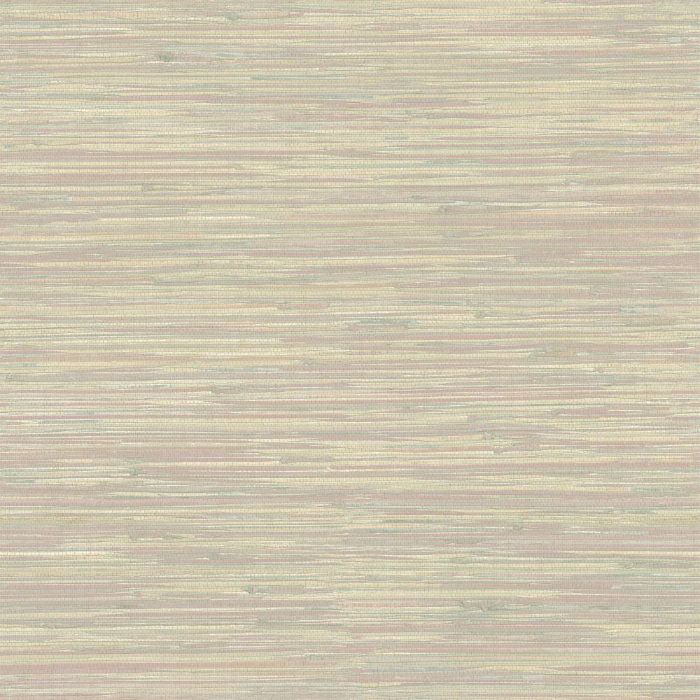 Devotion Grey Hydrangea Trail Wallpaper Grasscloth