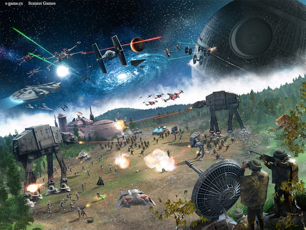 Star Wars battleground