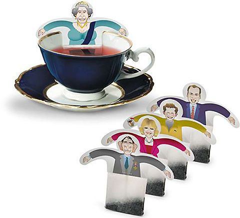 Celebrity Tea Bags by Donkey Products