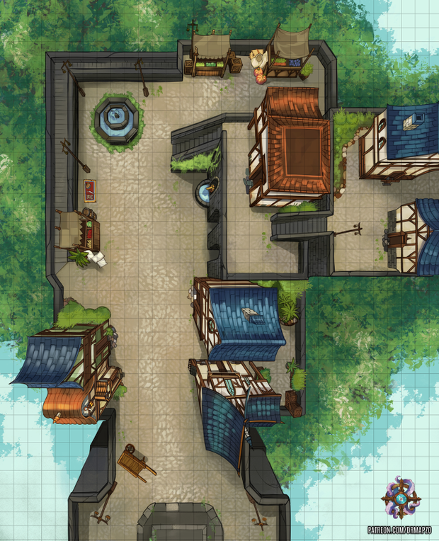 Dr  Mapzo is creating tabletop RPG maps and tokens in 2019 | Maps