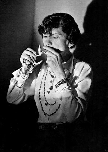 Gabrielle Chanel  photo Boris Lipnitzki