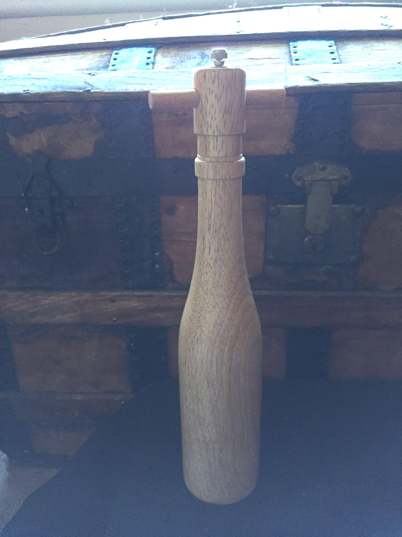 Large Vintage Wood Pepper Mill Pepper Grinder Spice Grinder Gift