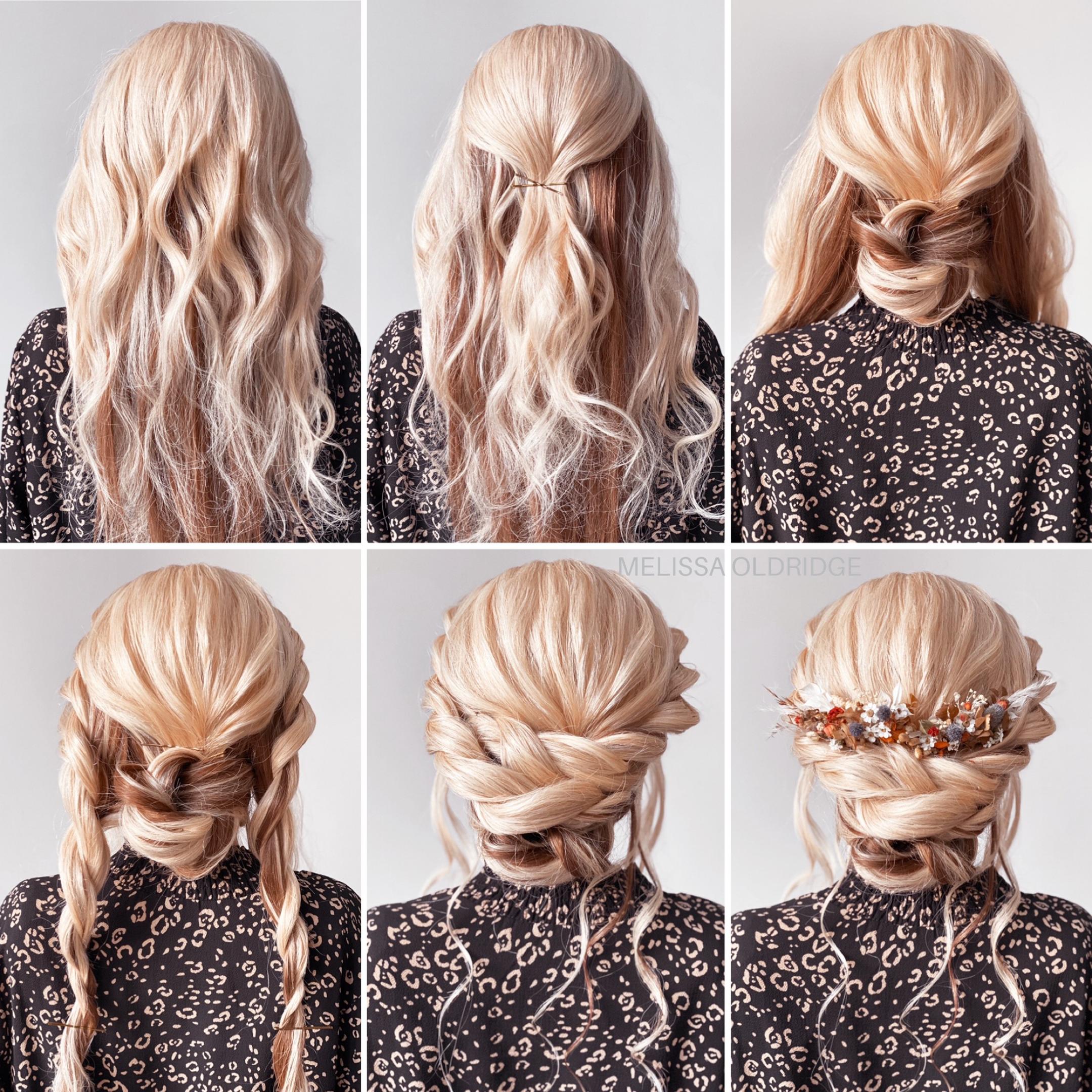 Boho Updo Easy Hair Updos Diy Wedding Hair Long Hair Updo