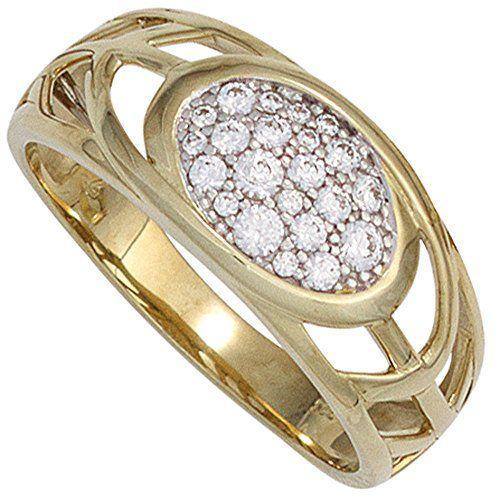 Damen-Ring 22 Zirkonia 8 Karat (333) Gelbgold 56 (17.8) Dreambase http://www.amazon.de/dp/B00N5BJWJQ/?m=A37R2BYHN7XPNV