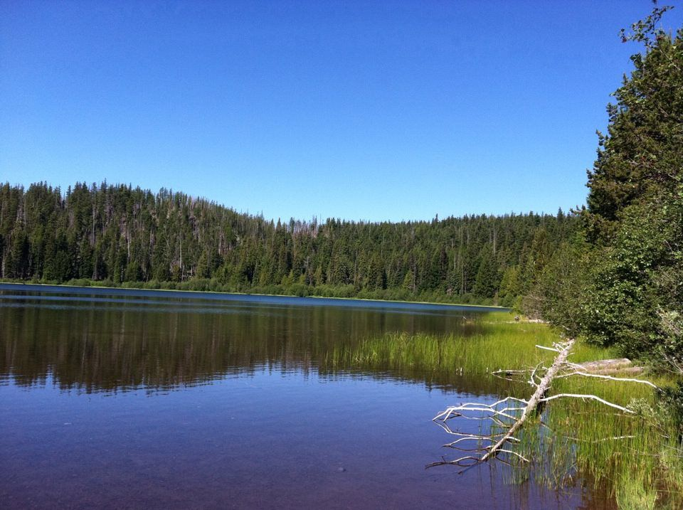 Trout Lake on the Warm Springs Indian Reservation   My Photography