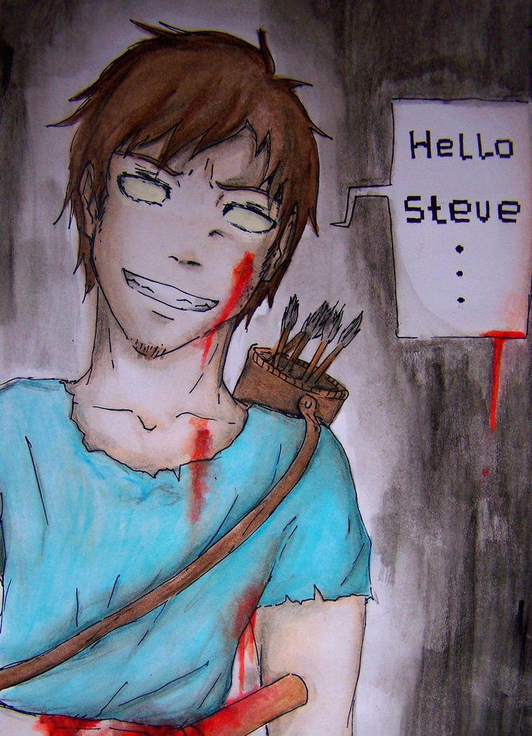 Minecraft Steve Awakening