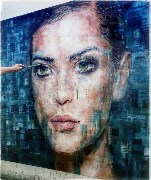 Determination Portraits Art Portrait Art Street Art