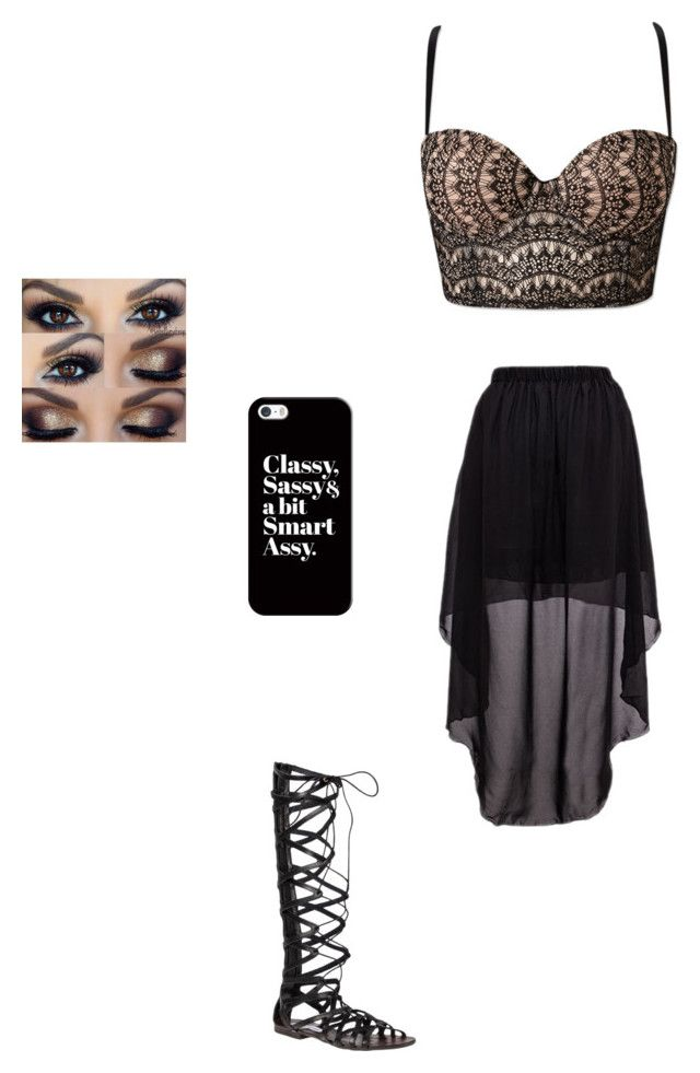 """Untitled #76"" by outlaw88 ❤ liked on Polyvore featuring Forever 21, Steve Madden and Casetify"