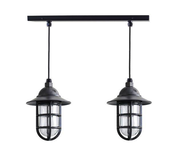 Vision 2-Light Chandelier, Island Lights | Barn Light Electric ...