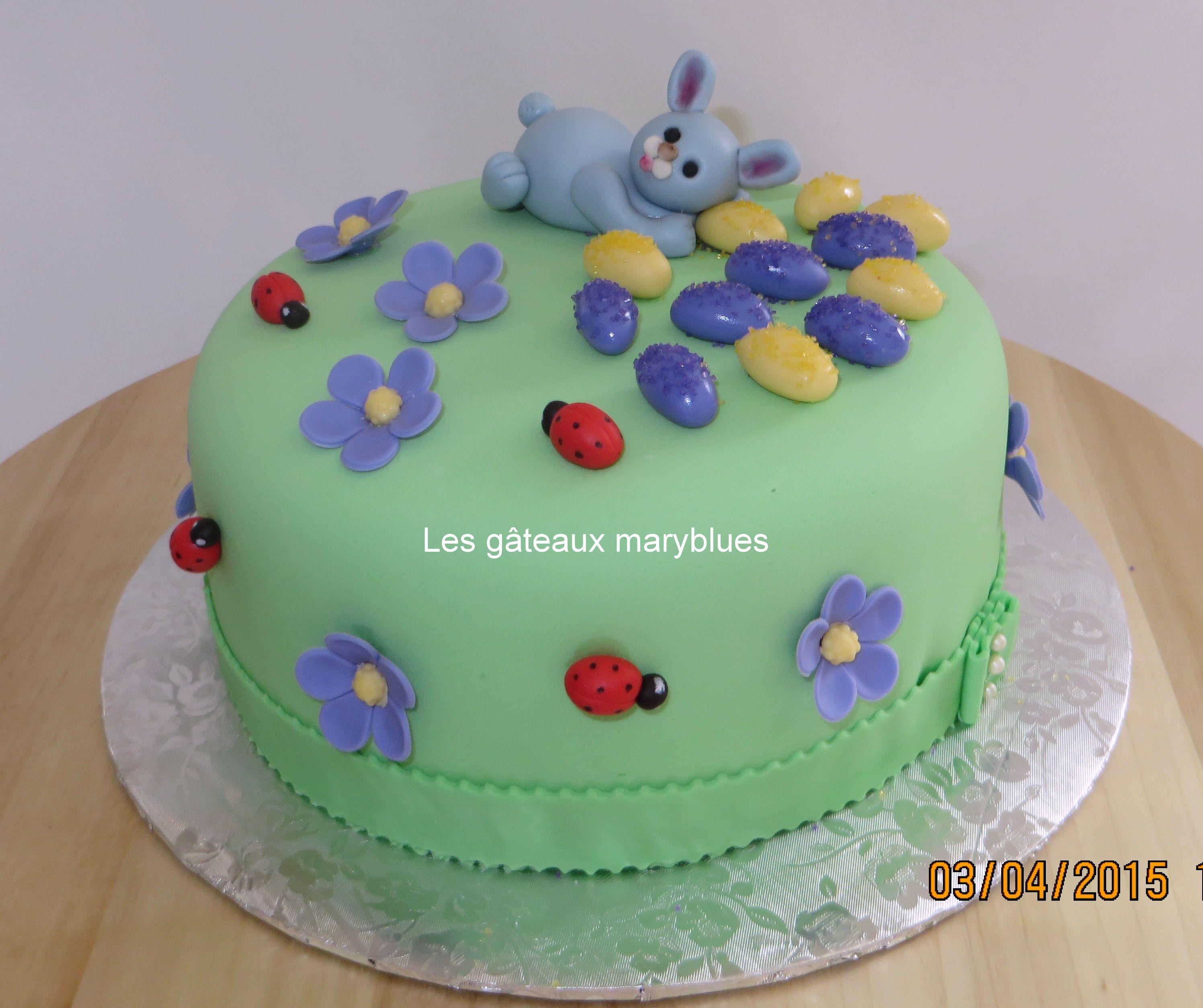 Un gâteau pour Pâques
