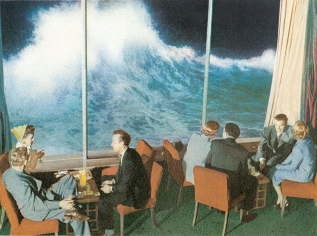 The Marine Room, La Jolla, in 1949 | Travel | Pinterest | La jolla ...