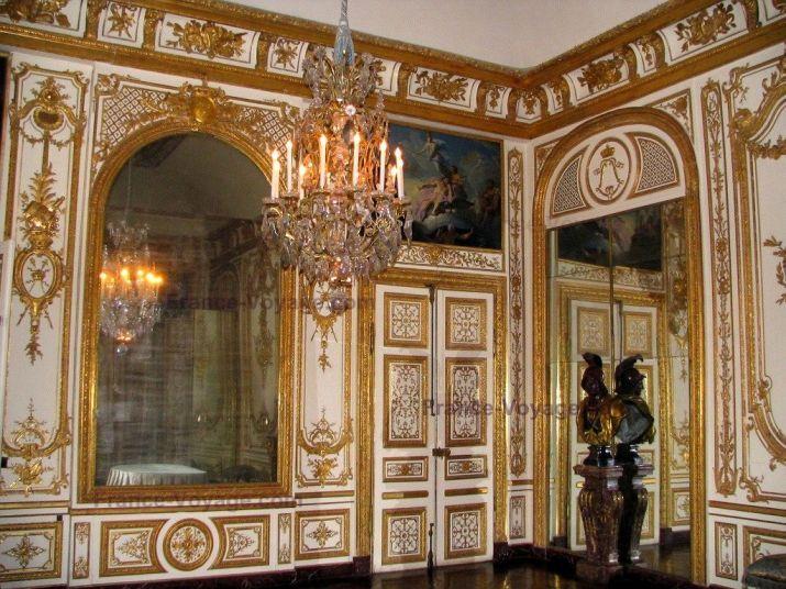 Superbe Château De Versailles : Intérieur Du Château : Salle Du Conseil