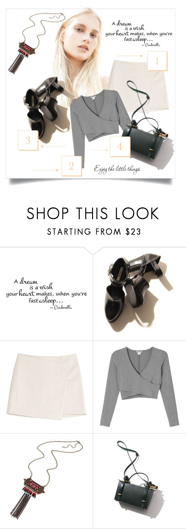 """""""Tons pastéis"""" by patri-fachini ❤ liked on Polyvore featuring Marc by Marc Jacobs, Monki and WALL"""