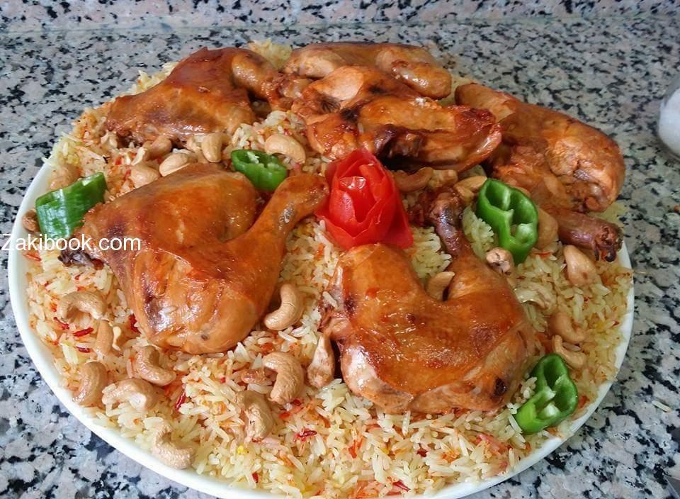 طريقة عمل مندي الدجاج شغل البيت بالصور زاكي Food Receipes Eastern Cuisine Arabic Food