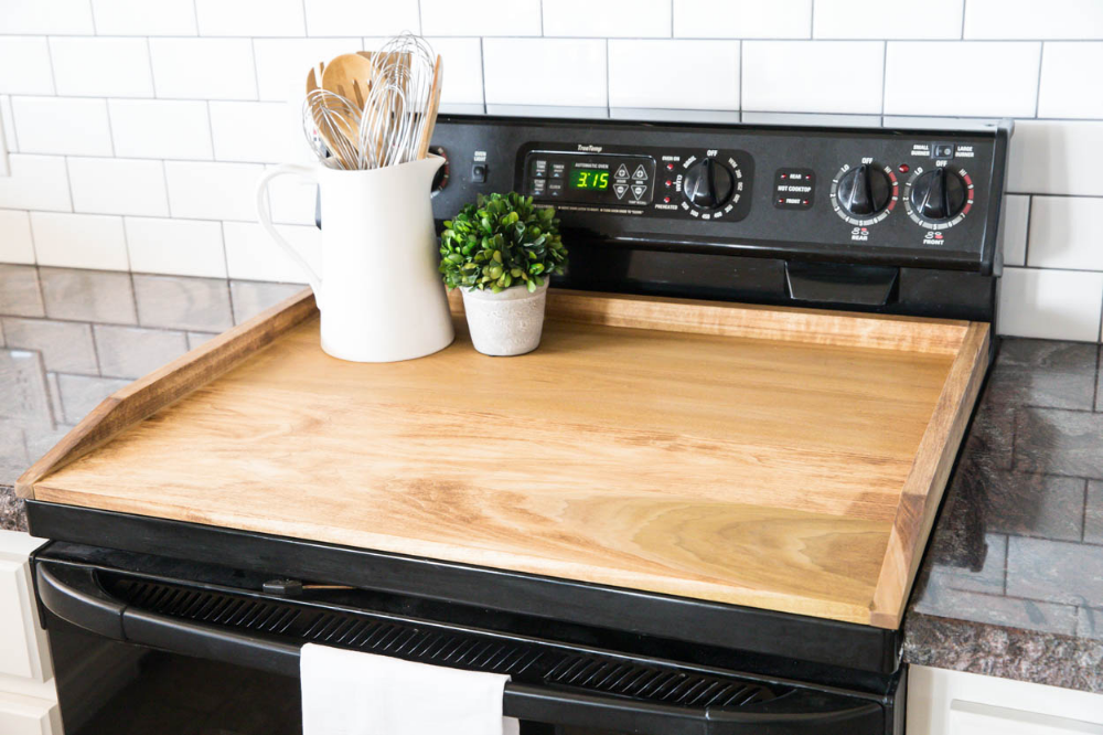 Learn How To Make A DIY Stovetop Cover (aka Noodle Board ...