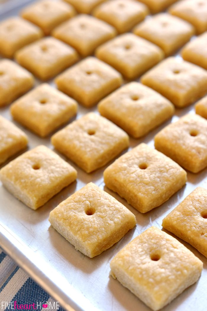 Homemade Cheese Crackers | Homemade cheese crackers ...