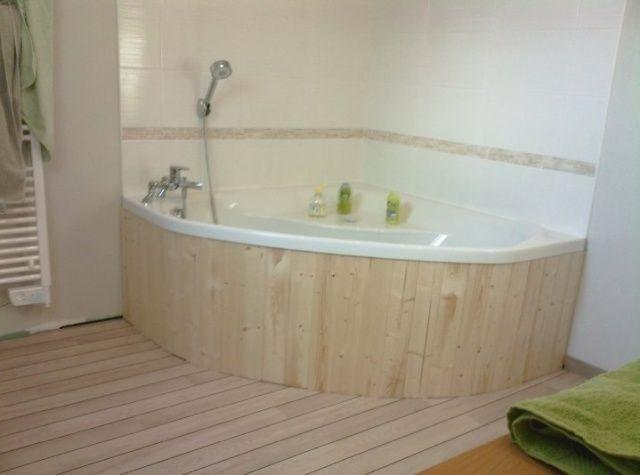 comment habiller une baignoire d 39 angle 31 messages d co pinterest. Black Bedroom Furniture Sets. Home Design Ideas