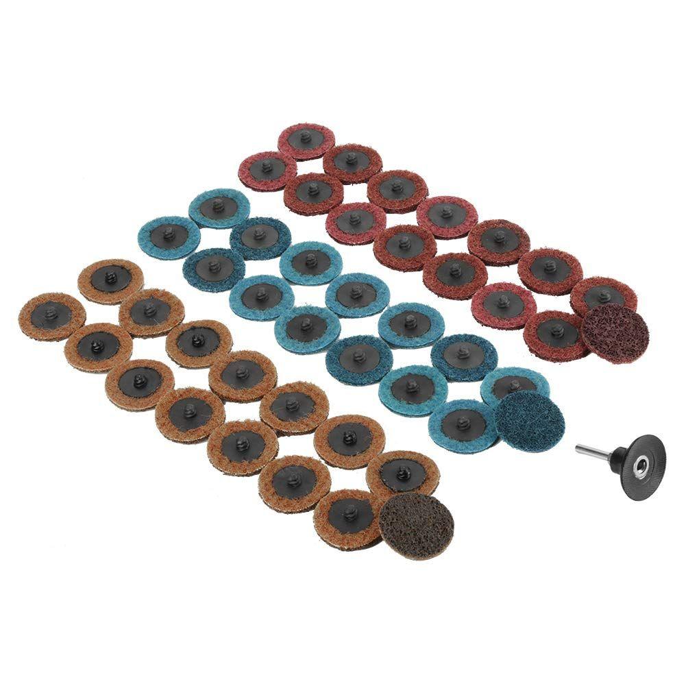 2 Sanding Disc 180 320 400 Grit Flap Disc Sanding Polishing Grinding Wheel Sandpaper Pads Red Yellow Blue 15pcs Of Each Col Abrasive Wheels Sanding Red Yellow