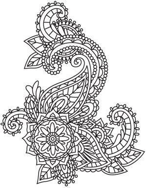 Mendhika Swirl Mendhika (Design Pack) Urban Threads