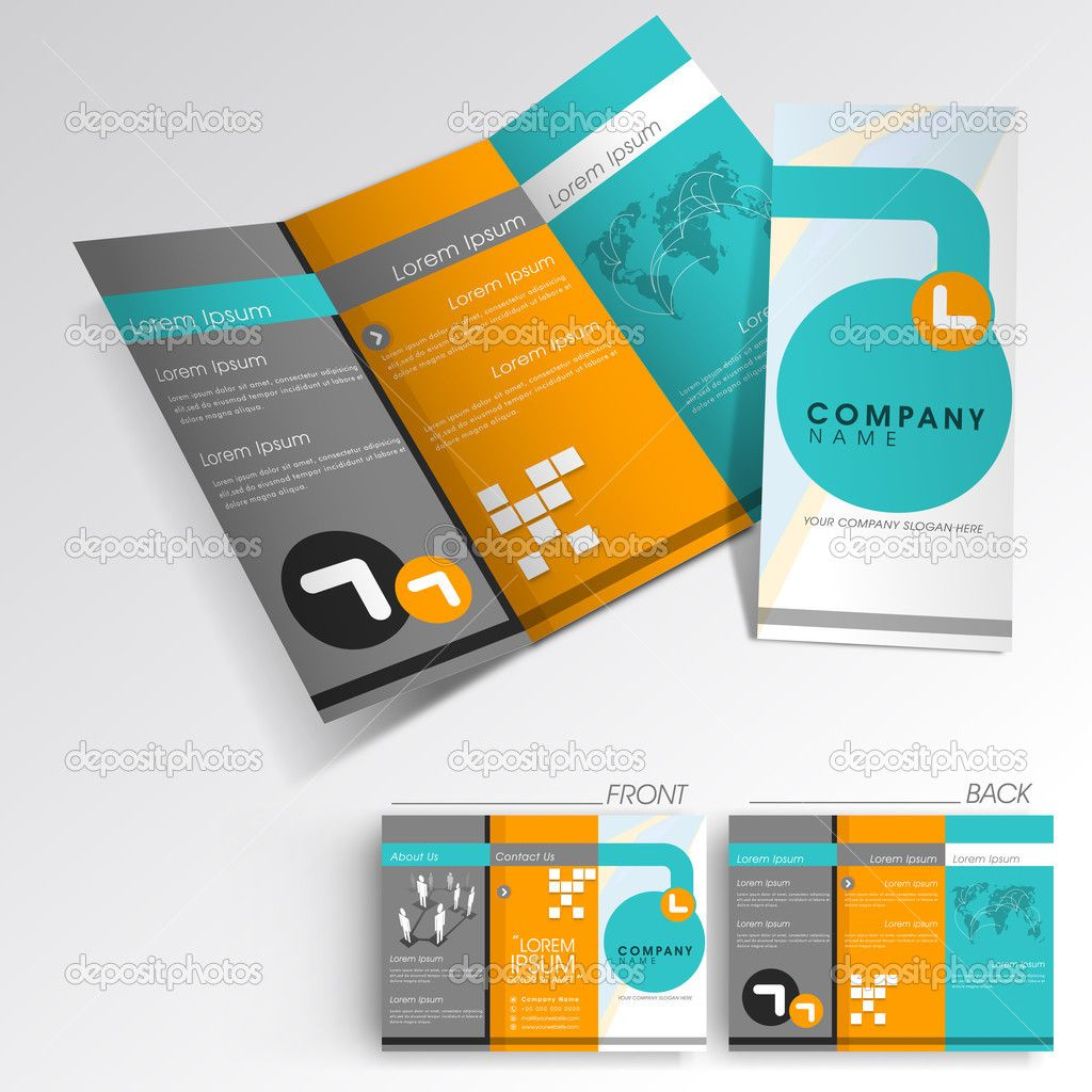 Image Of Printable Company Brochure Template