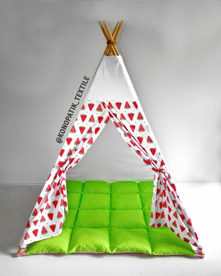 Hot and Ready to Ship Teepee with 🍉 Add brightness and