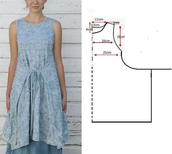 Wrap dress pattern! :D This works really well for the