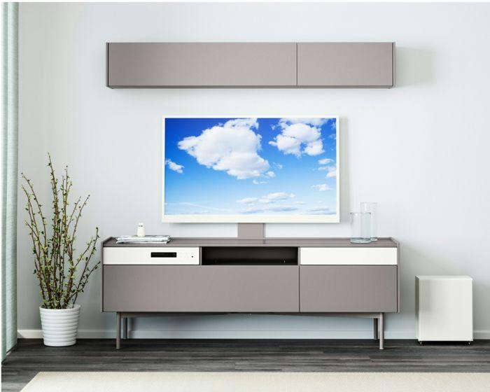 ikea-möbel-ideen-recycled-holz-kommode-wohnzimmer | ikea ...