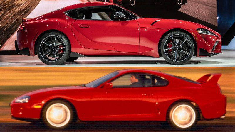 2020 Toyota Supra Vs 1993 Toyota Supra Specs Compared Toyota Supra Toyota Toyota Supra Turbo