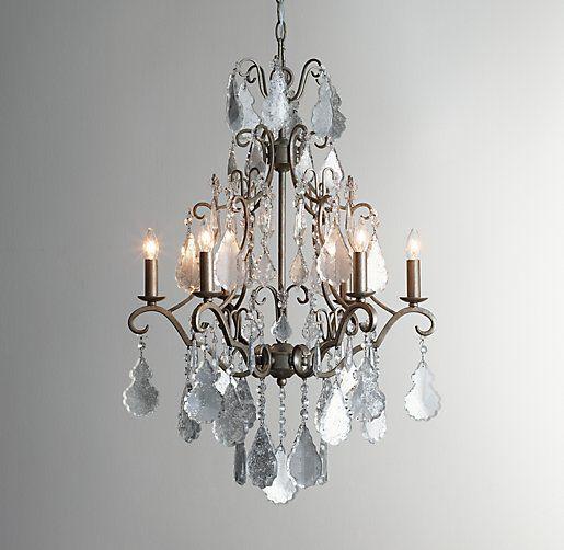 Eveline mercury glass chandelier 205w x 29h surf chateau eveline mercury glass chandelier 205w x 29h aloadofball Choice Image