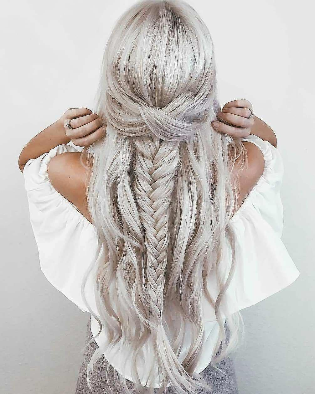 gorgeous hairstyle ideas for long hair #longhairstylestips