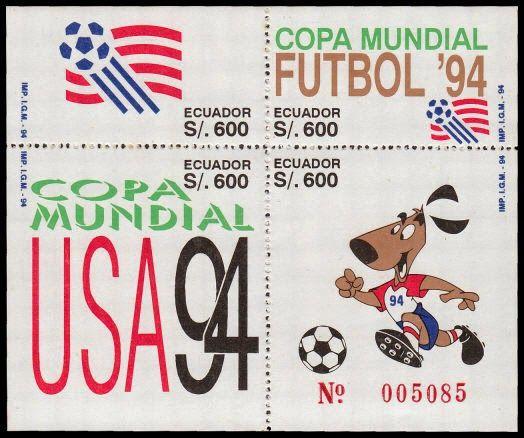 Copa mundial Fútbol 94