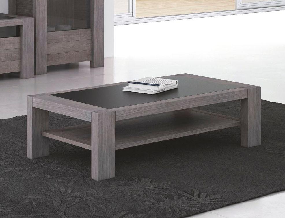 Table Basse Rectangulaire Double Plateau Ref 17891 Meubles Rey